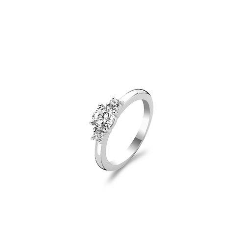 1796ZI Ti Sento zilveren ring met zirconia