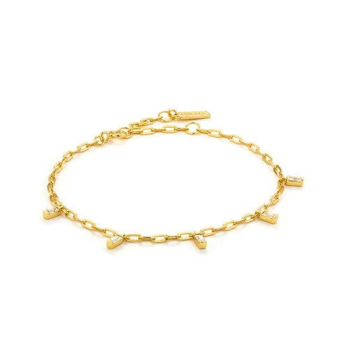 Ania Haie B018-01G Glow Drop Bracelet M