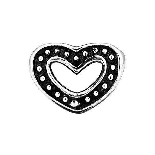 562443 Bellini zilveren bedel hart