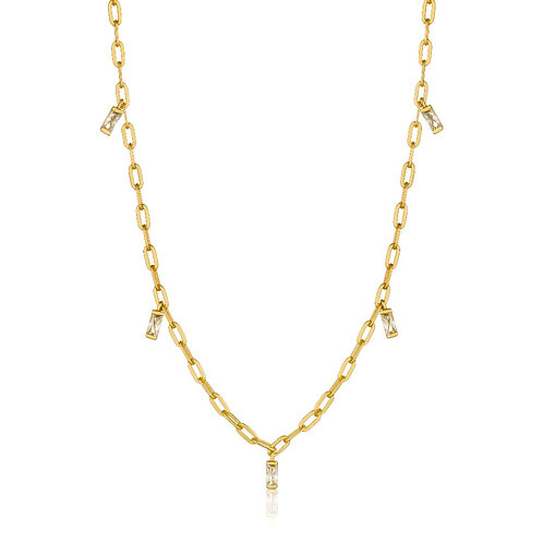Ania Haie N018-02G Glow Drop Necklace M