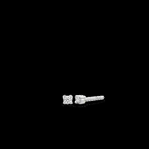 7835ZI  Ti Sento zilveren oorstekers met zirconia