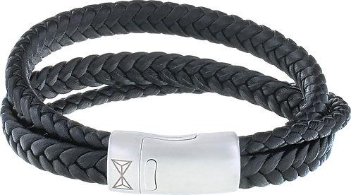 AZ-BL002-A-210 Iron Three String Black  Aze Jewels