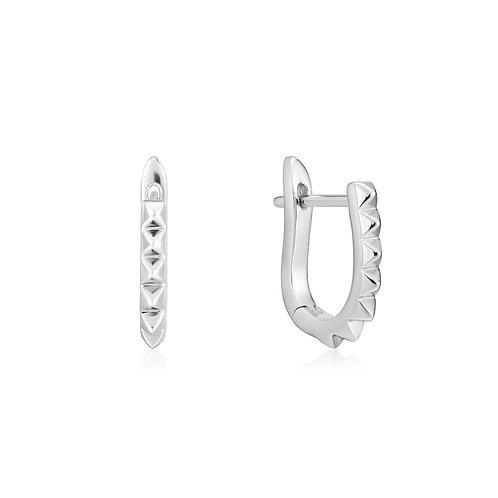 Ania Haie E025-07H Spike huggie hoop earrings