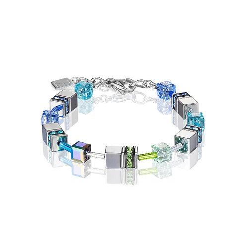 4015-30-0705 Coeur de Lion armband blue-green