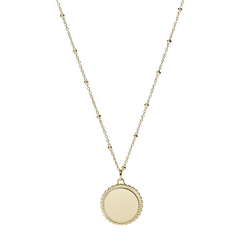 JF03167710 Fossil Vintage Iconic verguld collier
