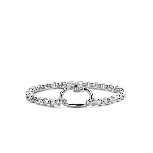 2950ZI Ti Sento zilveren armband met zirconia