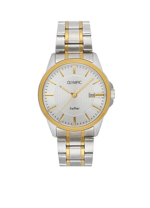OL26HSS288B Olympic horloge saffier