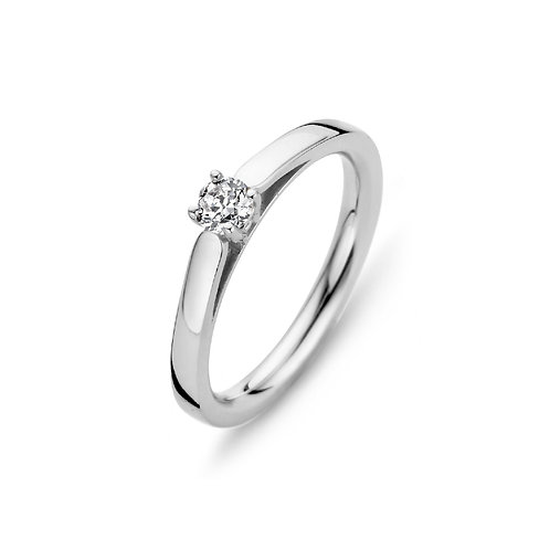 15111AW Moments Classics zilveren ring