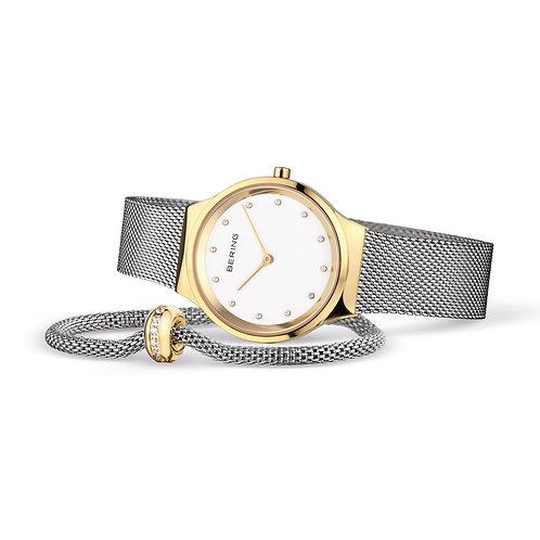 12131-010-190-GWP1 Bering Classic horloge set met armband