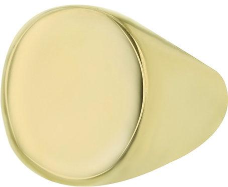 AZ-RG002-D-019 Ring Signet - Dore  Aze Jewels