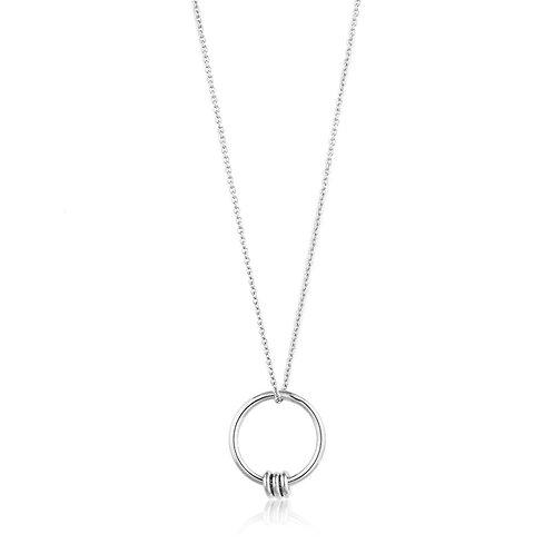 Ania Haie N002-01H Modern Circle Necklace M