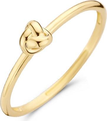 1193YGO Blush ring geelgoud knoop