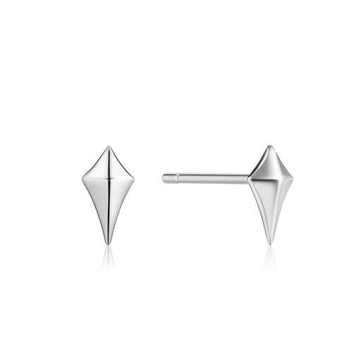 E023-23H Diamond Shape Stud Earrings