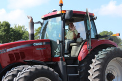Tractor Day/Outside Worship