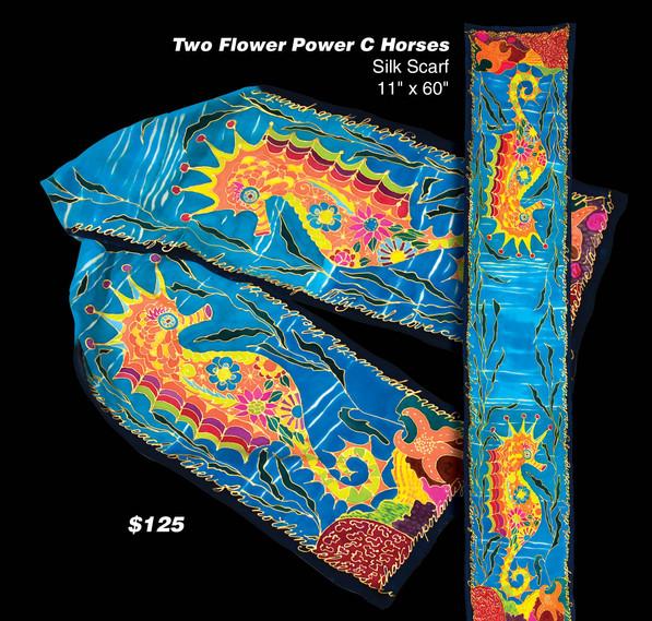Small Flower Power CHorse