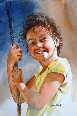 Jessica Swinging