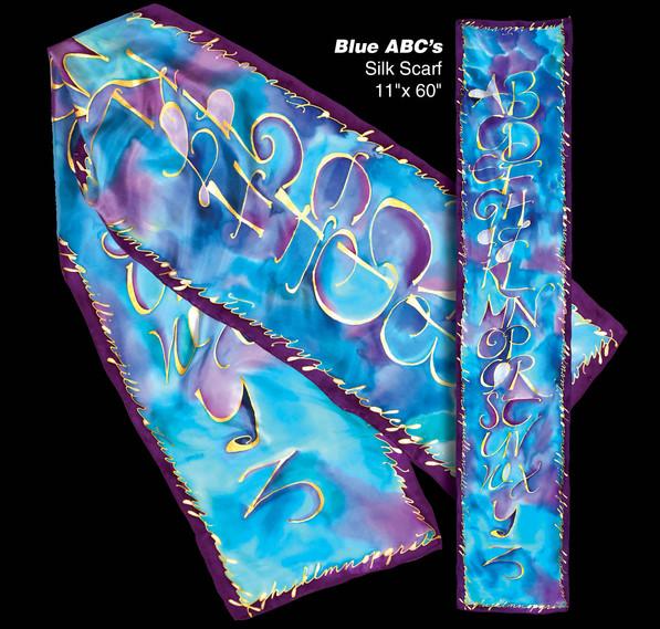 Blue ABC's