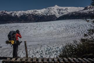 Views of Grey from Patagonia Circuit
