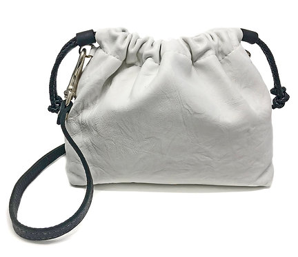 B & W Medium Bucket Crossbody