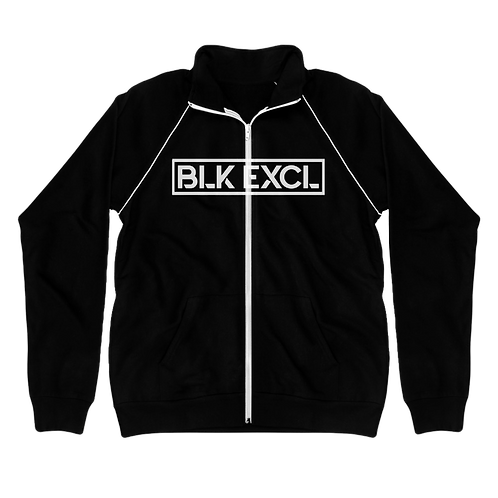 Piped Fleece BLK EXCL Jacket