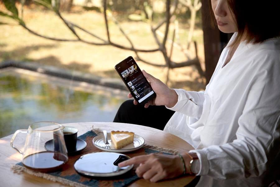 OURA | 使用app來更新內建食譜。