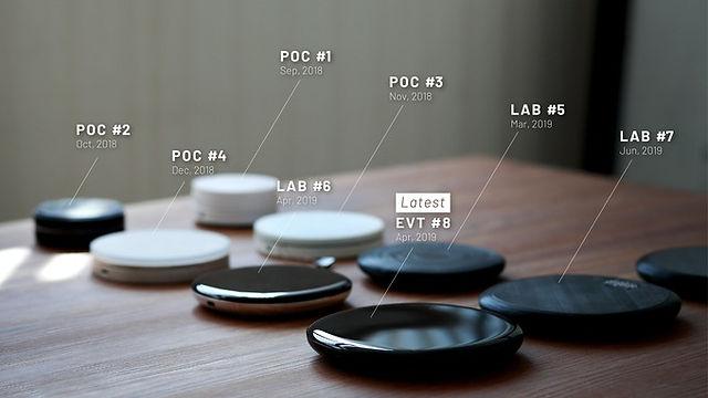 POURX OURA - prototypes