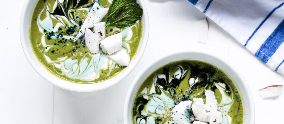 Nem só pra salada: sopa de agrião