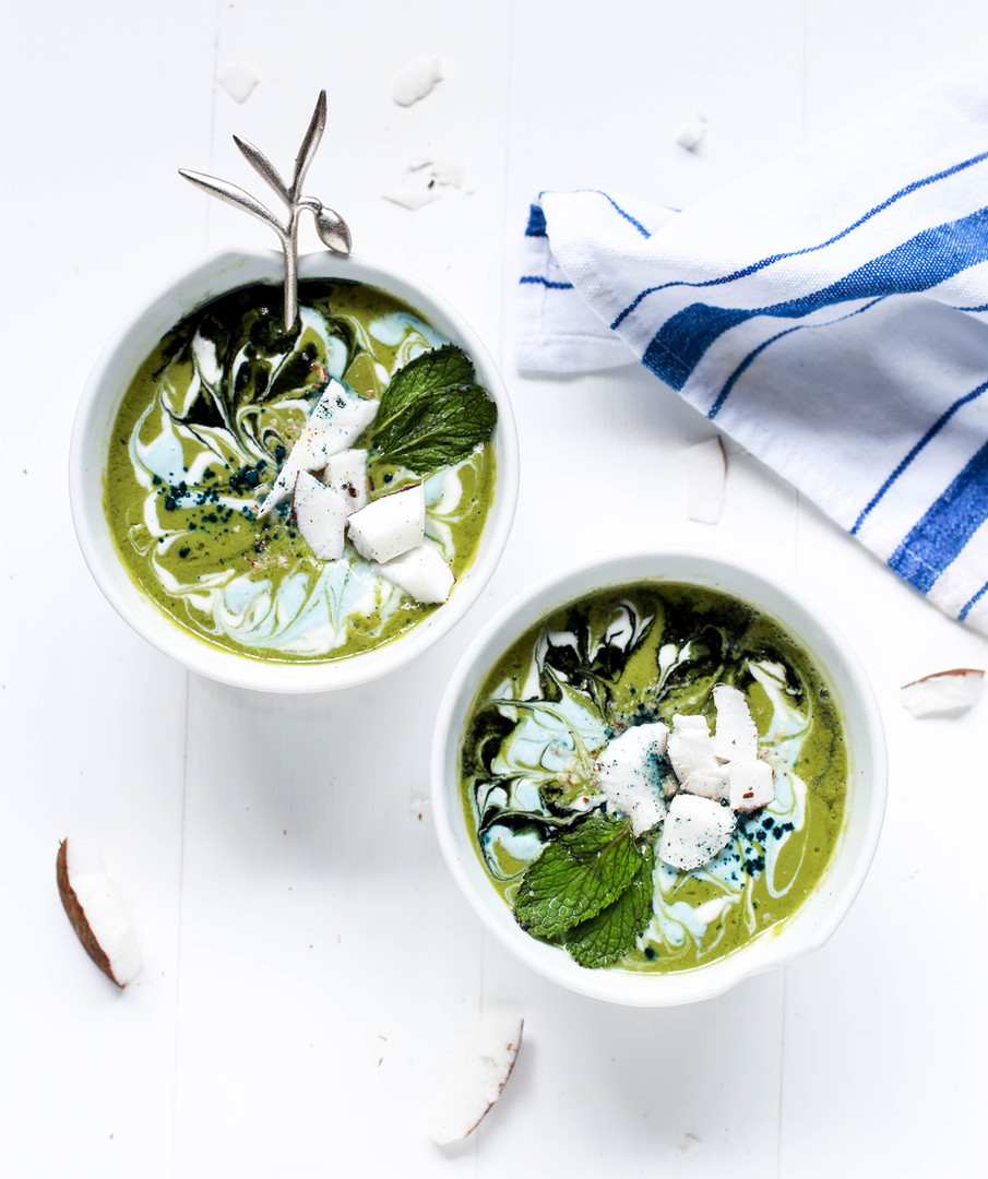 Green Smoothie with Chia