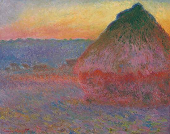 La Meule - Claude Monet - iam contemporaryart.com