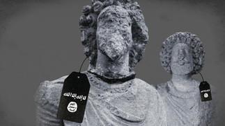 LA UE CONTRO CONTRO IL TRAFFICO D'ARTE CHE FINANZIA IL TERRORISMO. STOP ALL'IMPORT ILLECITO