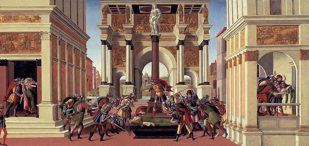 Sandro Botticelli Storie di Lucrezia - www.madeartis.org