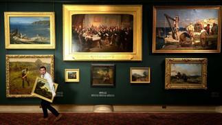 DIPINTI FALSI NEI MUSEI: L'ESPERIMENTO BRITANNICO