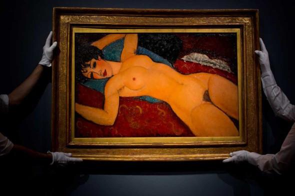 Nu couché di Amedeo Modigliani