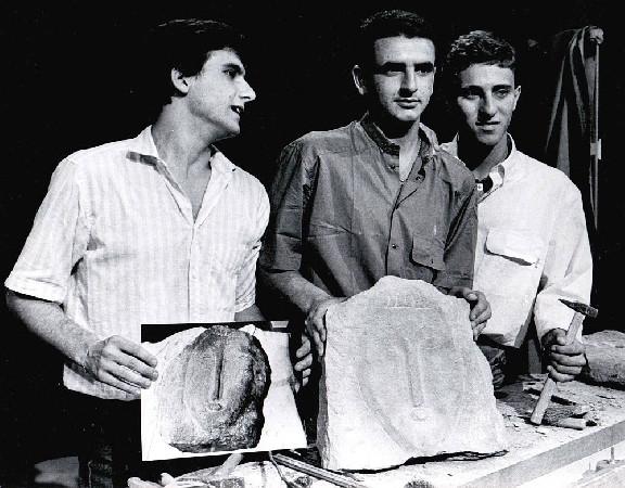 1984 i tre ragazzi livornesi autori della burla Modigliani