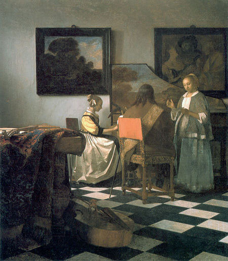"Jan Vermeer ""concerto a tre"" - www.madeartis.org"