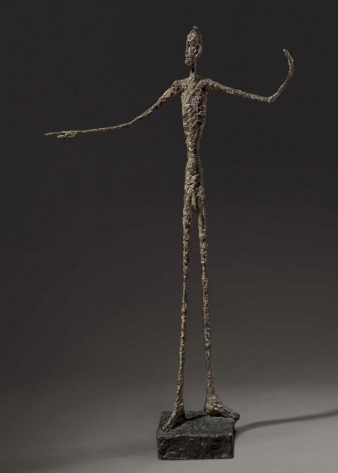 Alberto Giacometti, L'homme au doigt, 1947