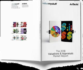 """VALUTARE ARTE: PUBBLICATO """"ValuemyStuff"""" IL REPORT 2018 di ArtTactic sulle valutazioni d&#"""