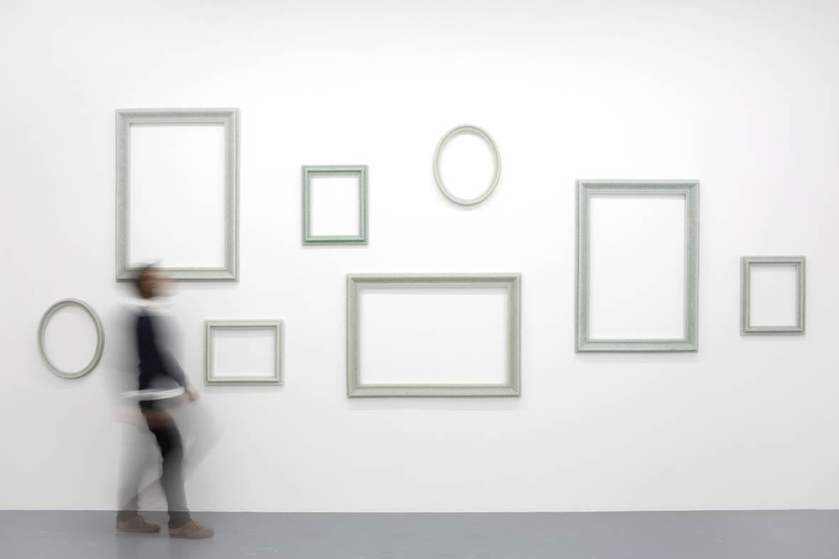 """Veduta dell'installazione """"STORM"""", Galerie Perrotin, Parigi"""