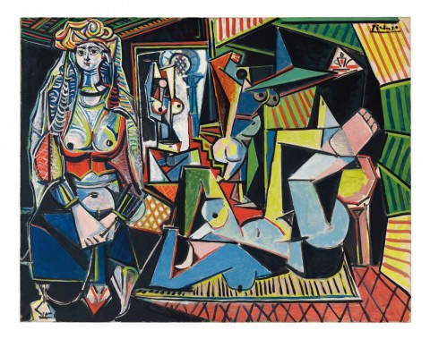 Pablo Picasso Les femmes d'Alger Version Estate of Pablo Picasso Artists Rights Society ARS New York 480x379