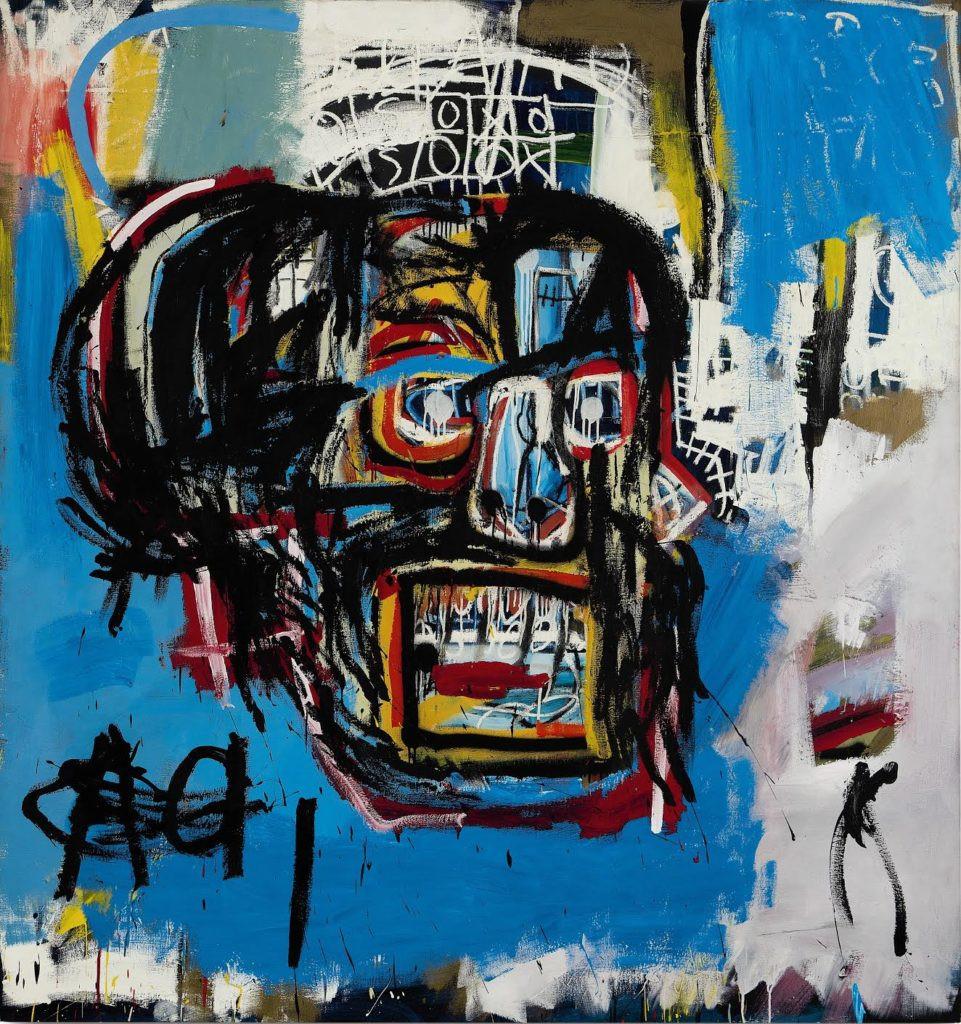 Untitled (1982) di Jean-Michel Basquiat