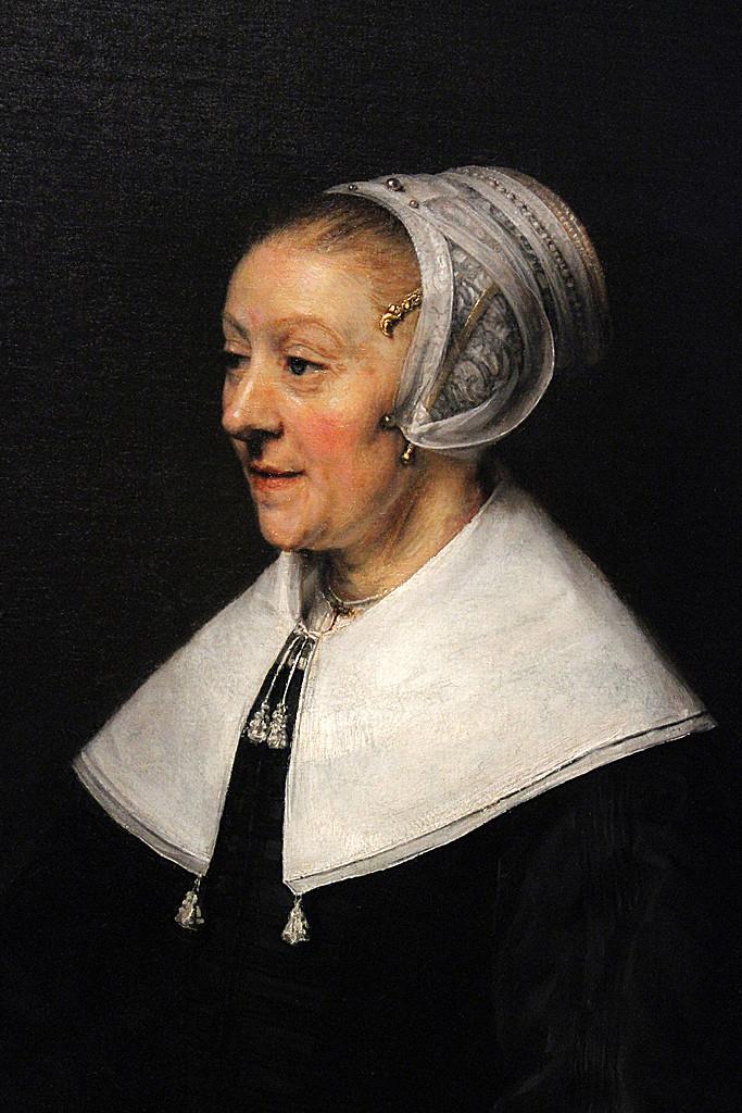 ritratto di Catrina Hooghsaet di Rembrandt - iamcontemporaryart.com