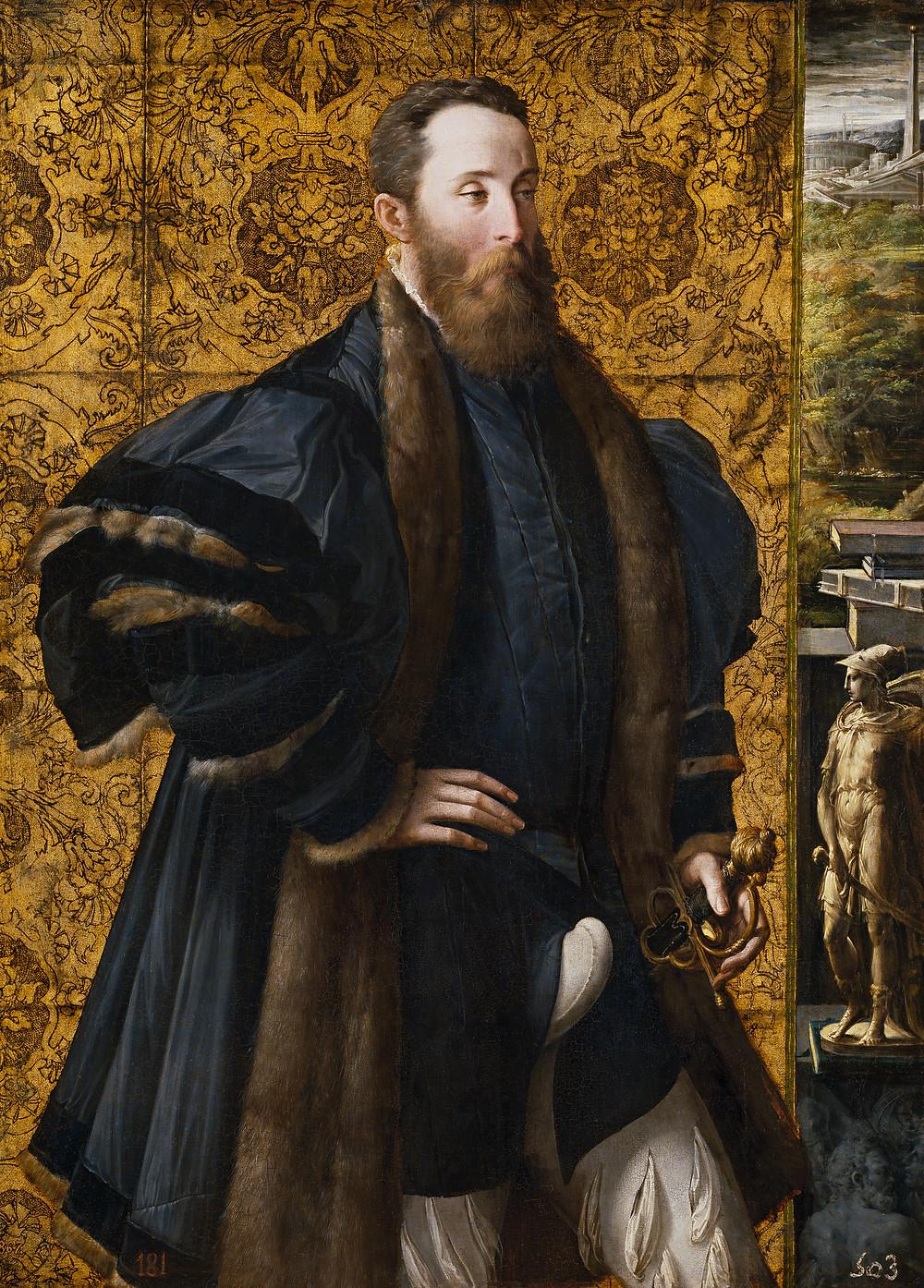 Parmigianino, ritratto di Pier Maria Rossi di sansecondo - www.madeartis.org
