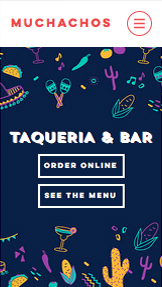 Restaurante website templates – Taquería mexicana