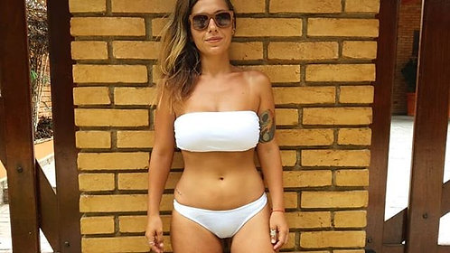sutiã bikini ane branco