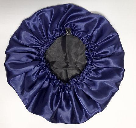 Touca de Cetim - Azul