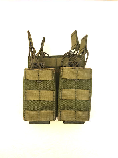 Double Stacked AR/M4 Open Top Pouch (4 Mag)