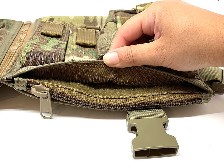 Pocket Converter (Velcro to Zipper)