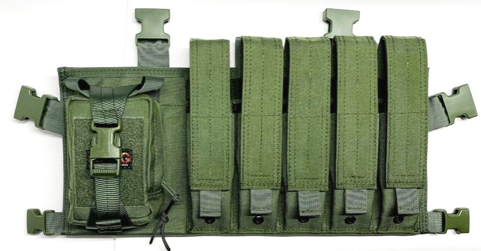 MP5 / SMG / Stick Mag Chest Rig