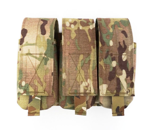 Triple Stacked AR/M4 Magazine Pouch (6 Mags)