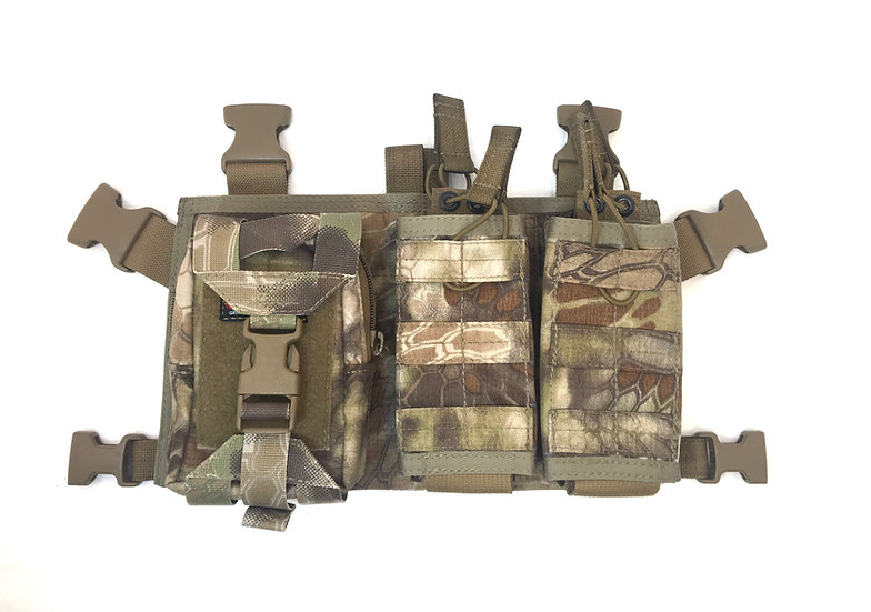 AR/AK Chest Rig  (4 mag open top)